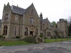 Mellington Hall: gaunt and great