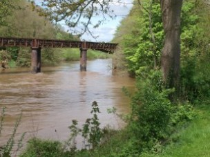 The bridge at Redbrook