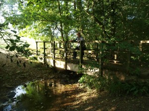 Bridge over the River Isbourne