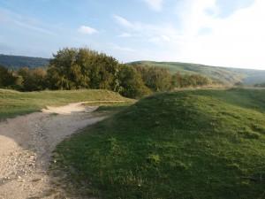 On the Cotswold Ridge near Postlip