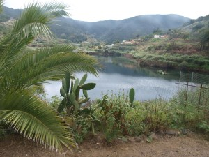 Reservoir above Las Rosas