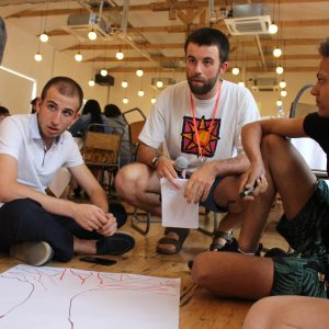 3 young people at an IFM congress