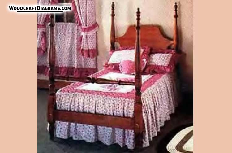 four poster bed plans blueprints for