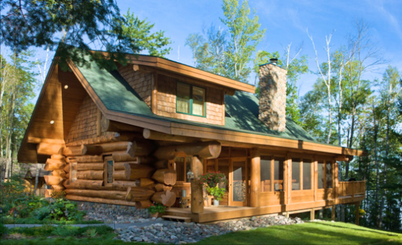 Log Home Building Project