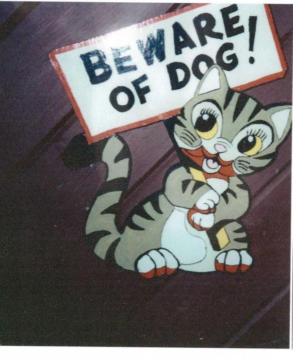 P81P - Beware of Dog Sign