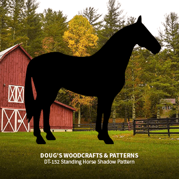 DT-152 Standing Horse Shadow Pattern
