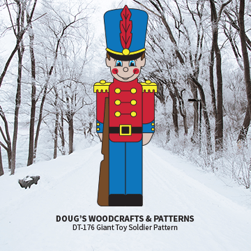 DT-176  Giant Foot Toy Soldier Pattern