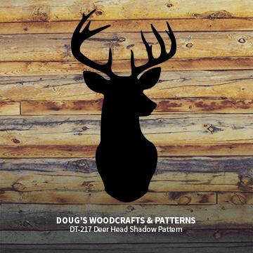 DT-217 Deer Head Shadow Pattern