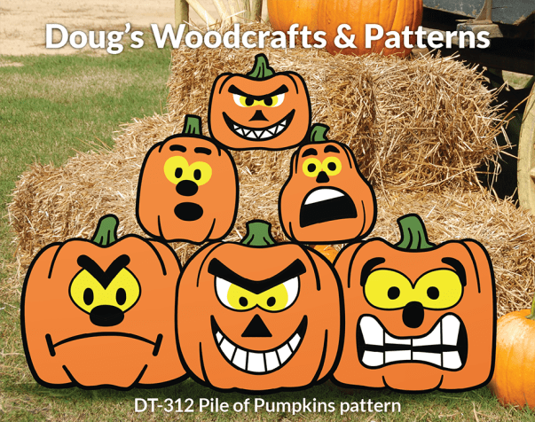 DT-312 Pile of Pumpkins Pattern