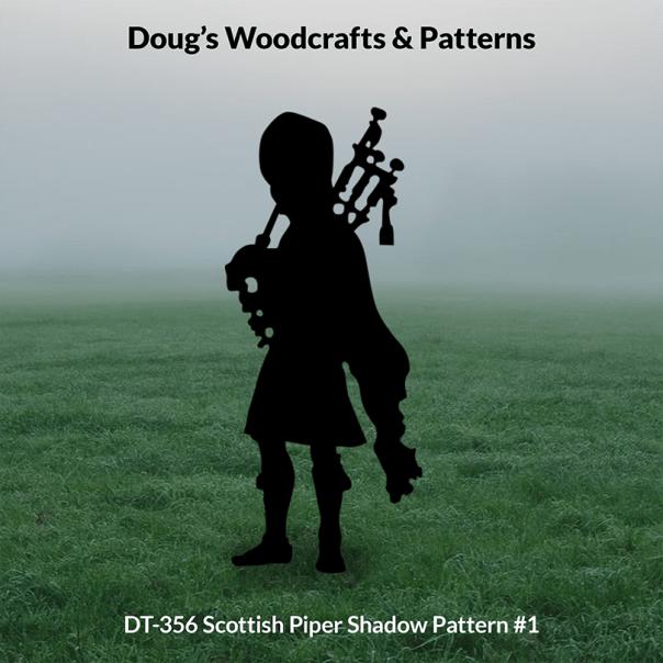 DT-356 Scottish Piper Shadow Pattern #1