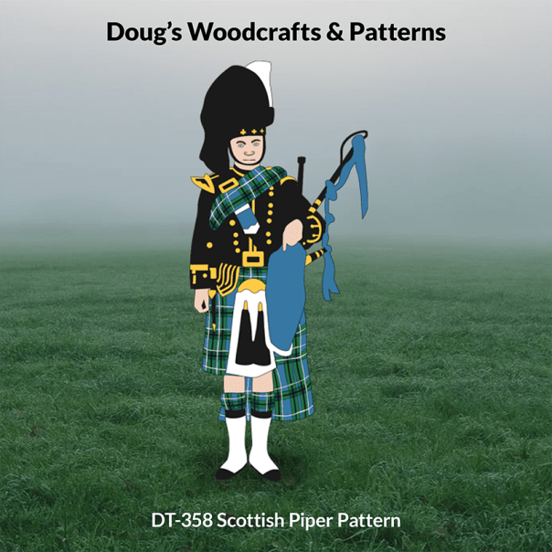 DT-358 Scottish Piper Pattern