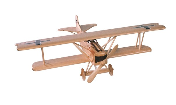 TJ86 - Bi-Wing Airplane Pattern & Parts Kit.