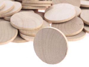 birthday board wood discs