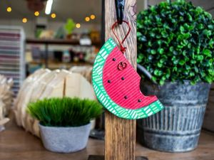 Mini Post Hanger Watermelon
