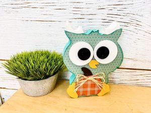 Cute Fall Pumpkin Owl