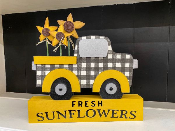 Sunflower Truck