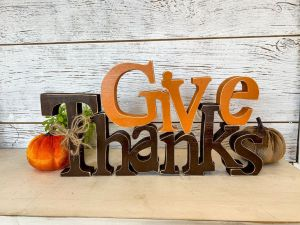 Thanksgiving Give Thanks