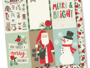 Merry & Bright 4x6 Vertical Elements