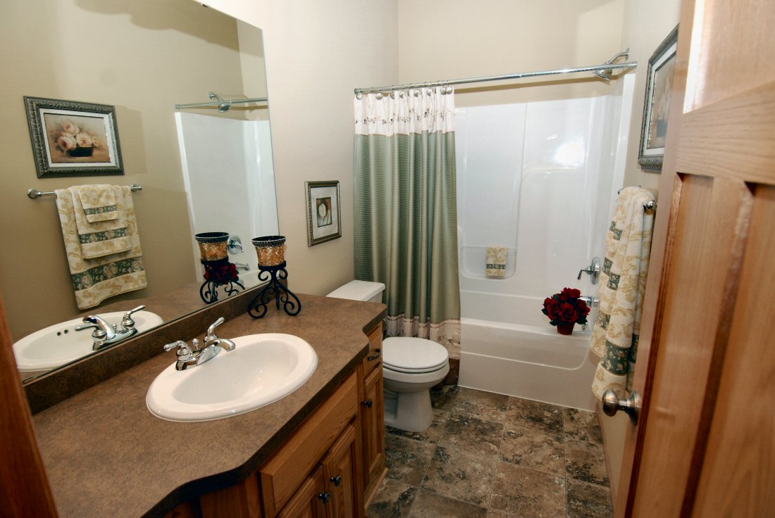 New single family homes and custom remodeling by Woodcrest ... on Main Bathroom Ideas  id=49691