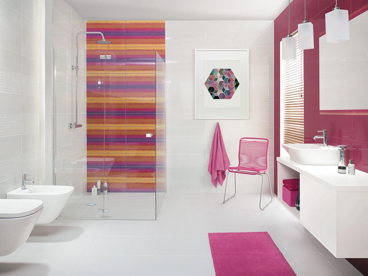 salle de bains du sol au plafond
