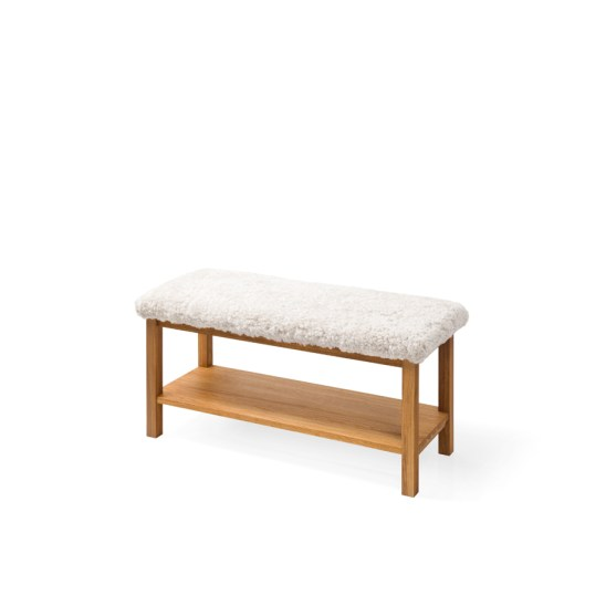bench, wooden bench, oak bench