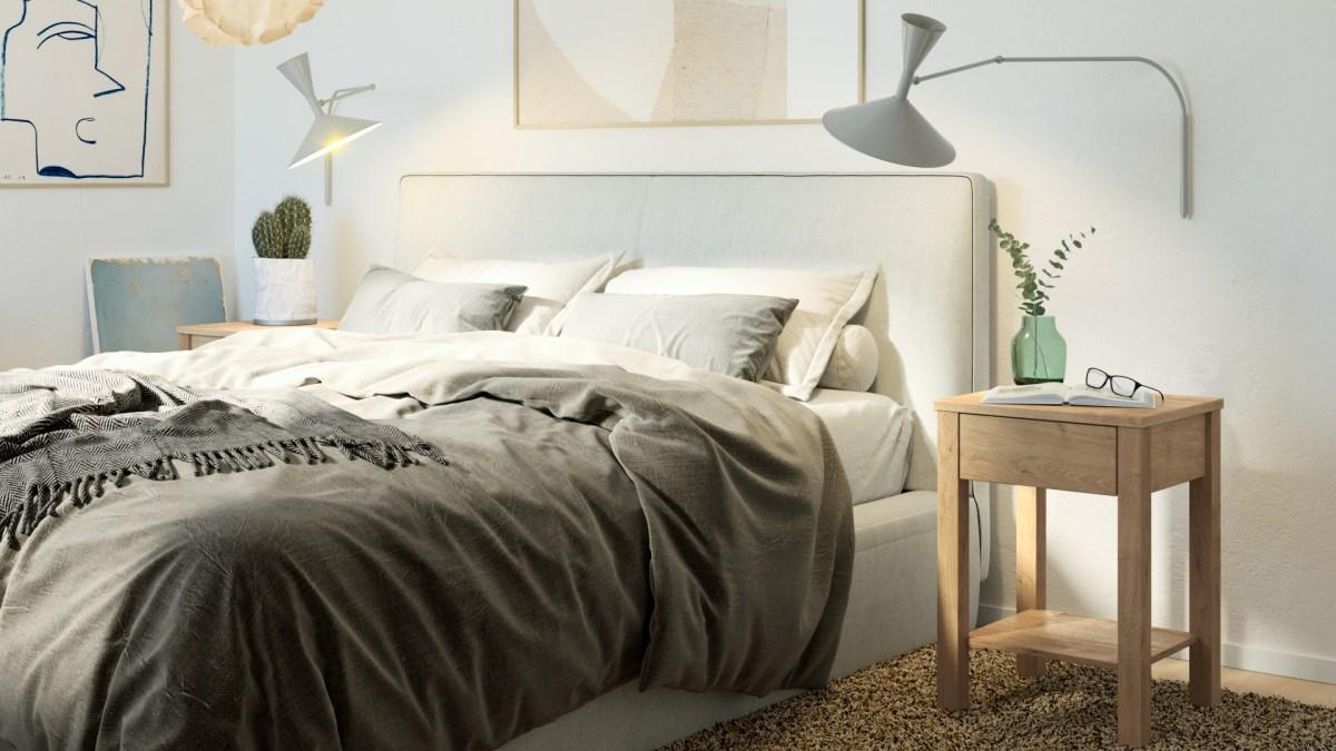 bedside table, nightstand, yöpöyta