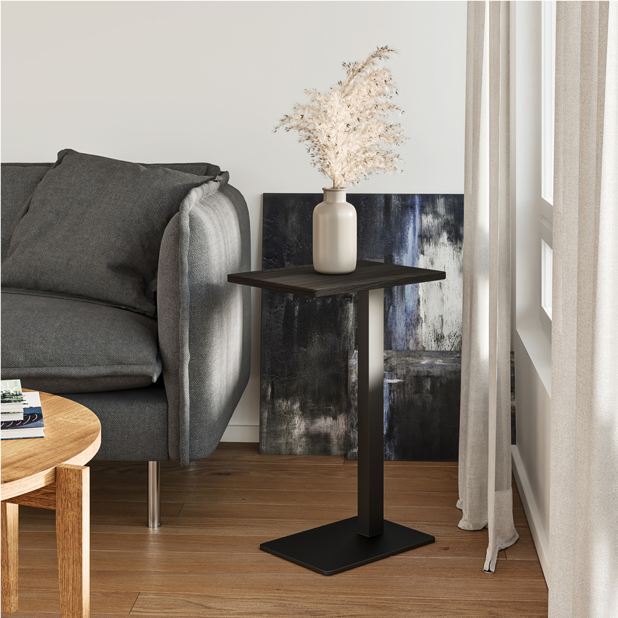 side table, wooden side table, table