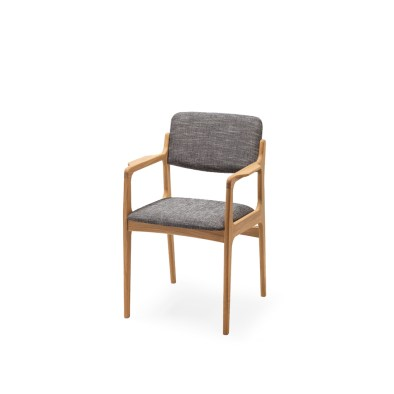 chair, wooden chair, oak chair, chair with armrests
