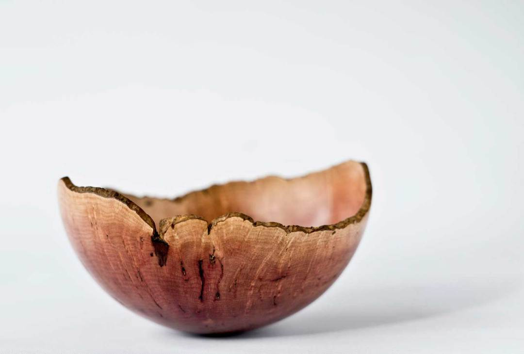 Natural Edge Kanuka Burl Bowl No225 (2019)