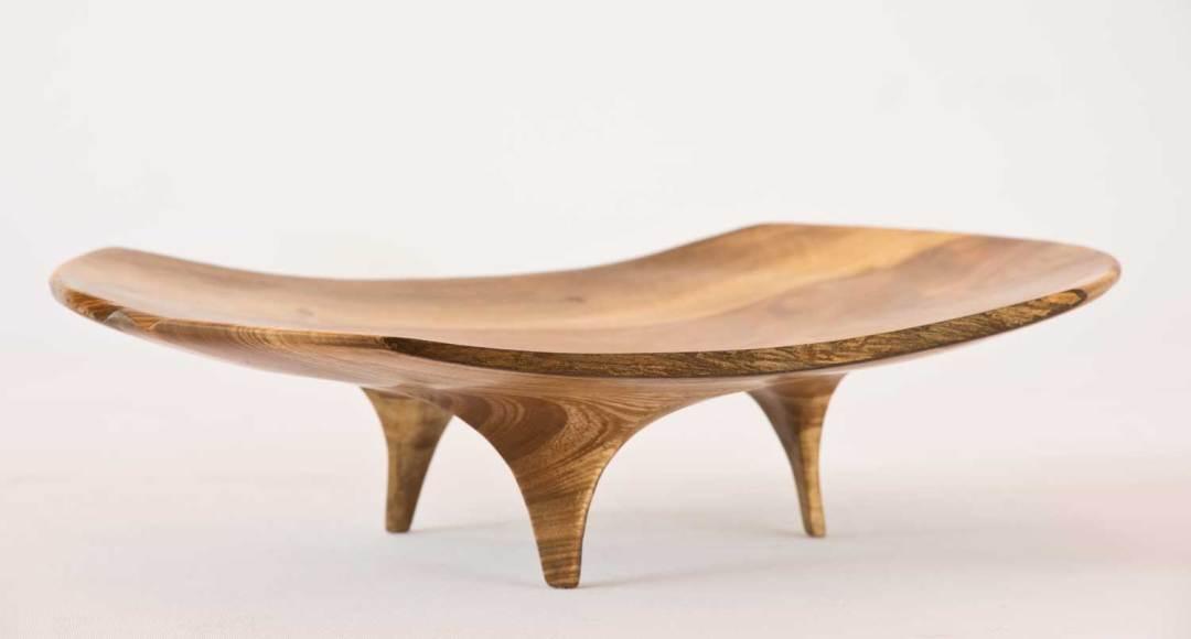 Puriri Wooden Platter No210 (2018)