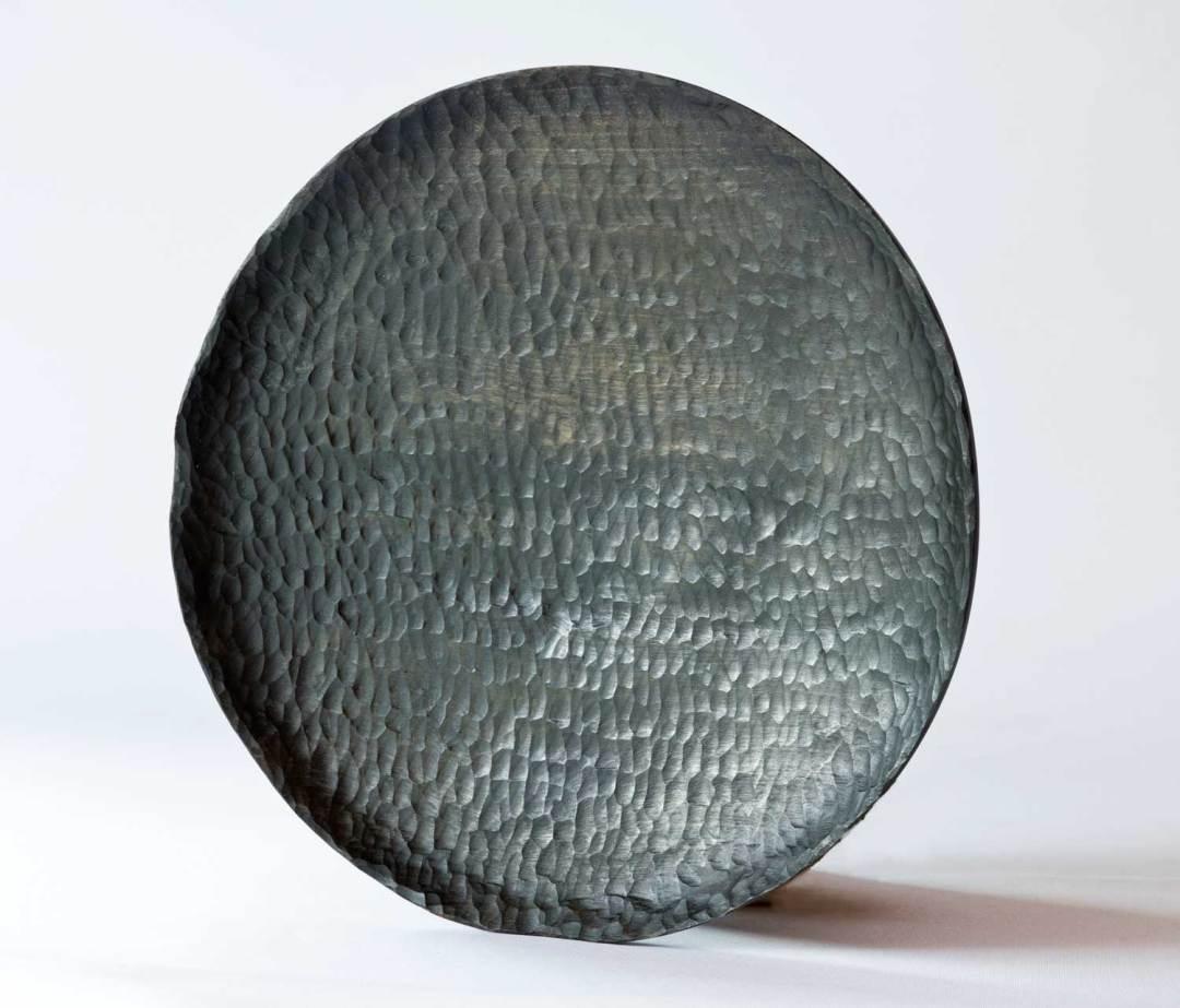 Ebonised Kanuka Wooden Platter No241 (2019)
