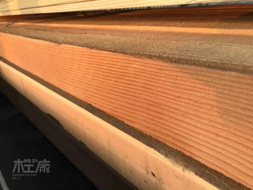 花旗松窯乾素材10.5 x 10.5cm