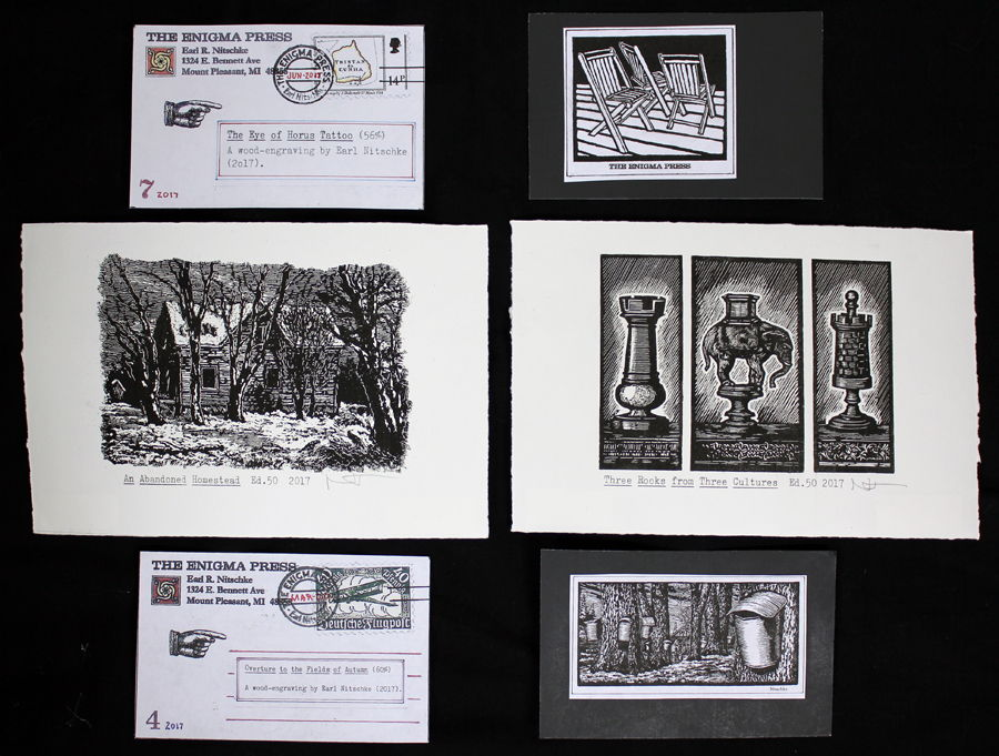 Earl Nitschke's Fabulous Postcards have returned!
