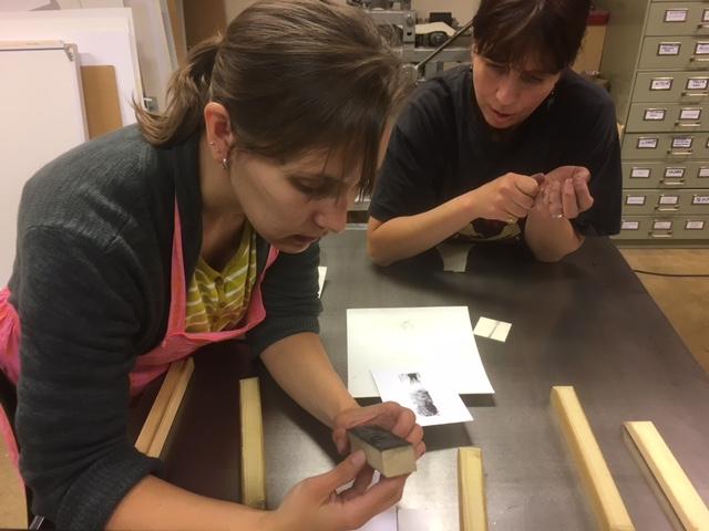 Wood Engraving in Finland with Mirka Hokkanen!