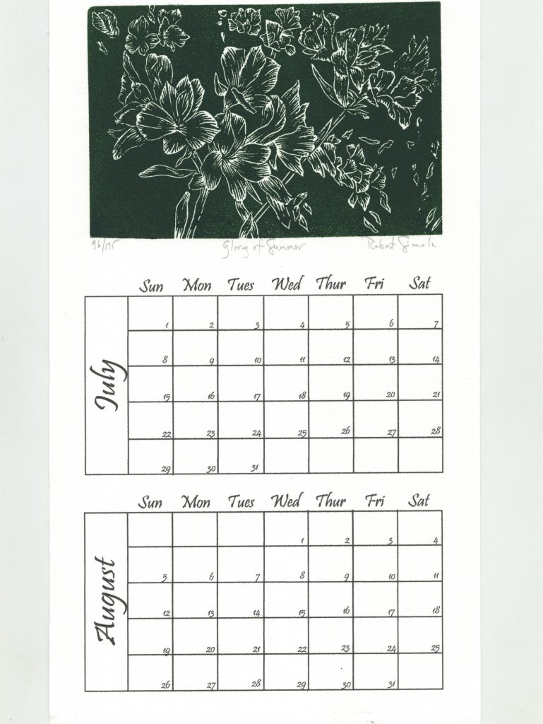 """Simola's """"Glory of Summer"""" Calendar Page Blooms Bright!"""