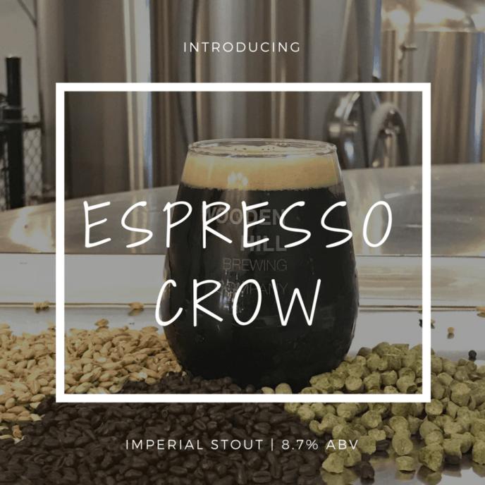 espresso crow, imperial stout