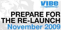 Vibe relaunch logo