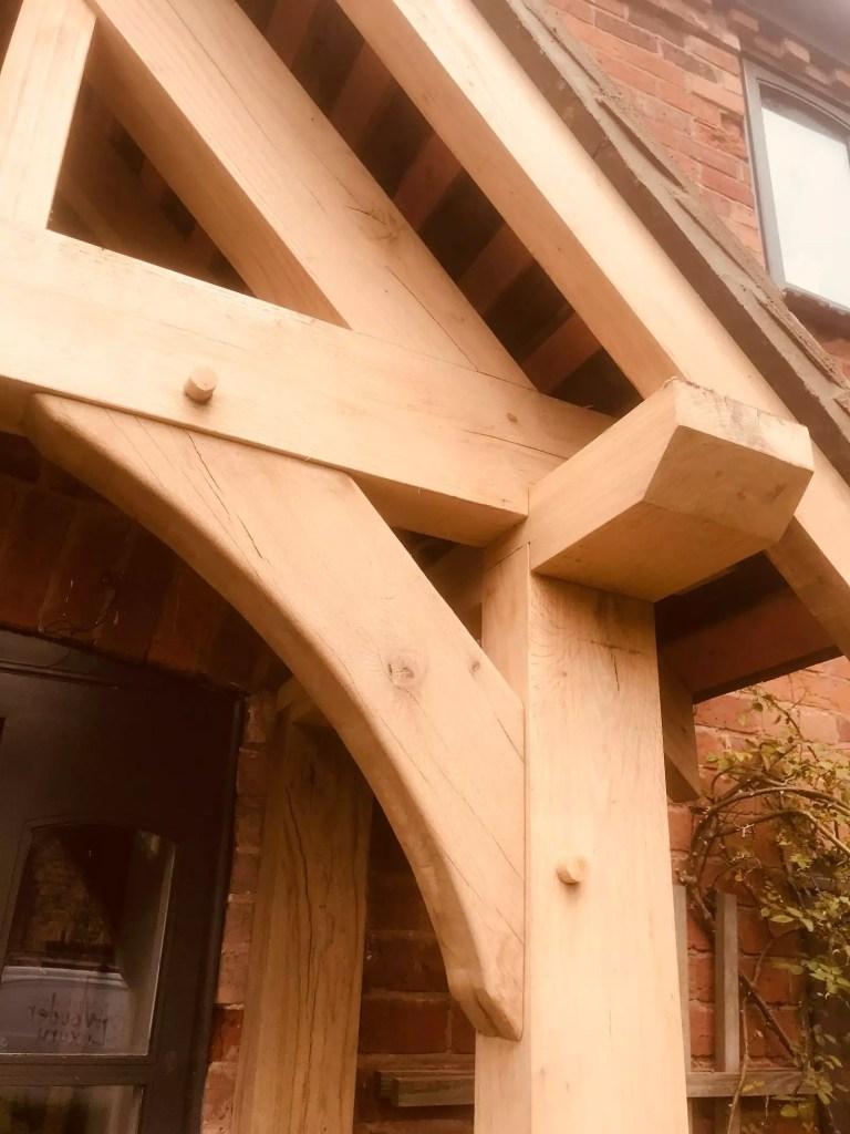 detail porche