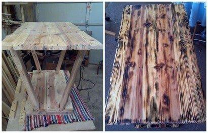 Aged Wood Effect