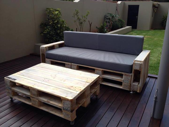 Awesome pallet sofa ideas - Divano pallet tutorial ...