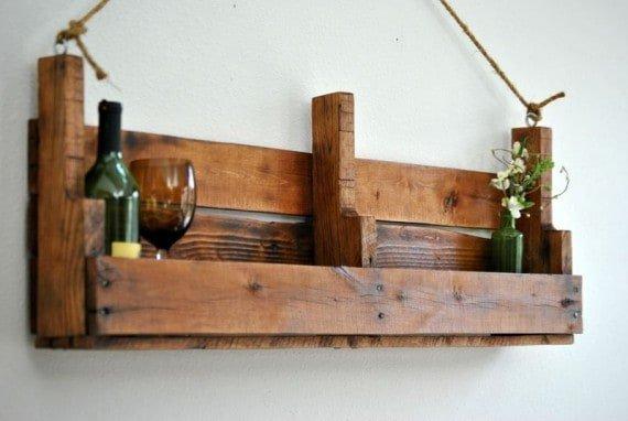 woodpalletwinerack