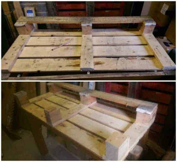 pallet before after