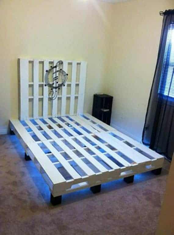 Pallet-Bed-with-Lights-Underneath