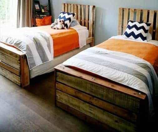 twin-bed-pallet-project