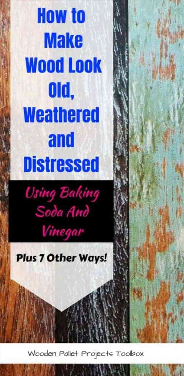 How To Make A Book Cover Look Old And Worn ~ 8 ways how to make wood look old weathered or distressed