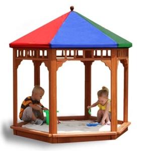 Play-zee-bo Wooden Sandbox