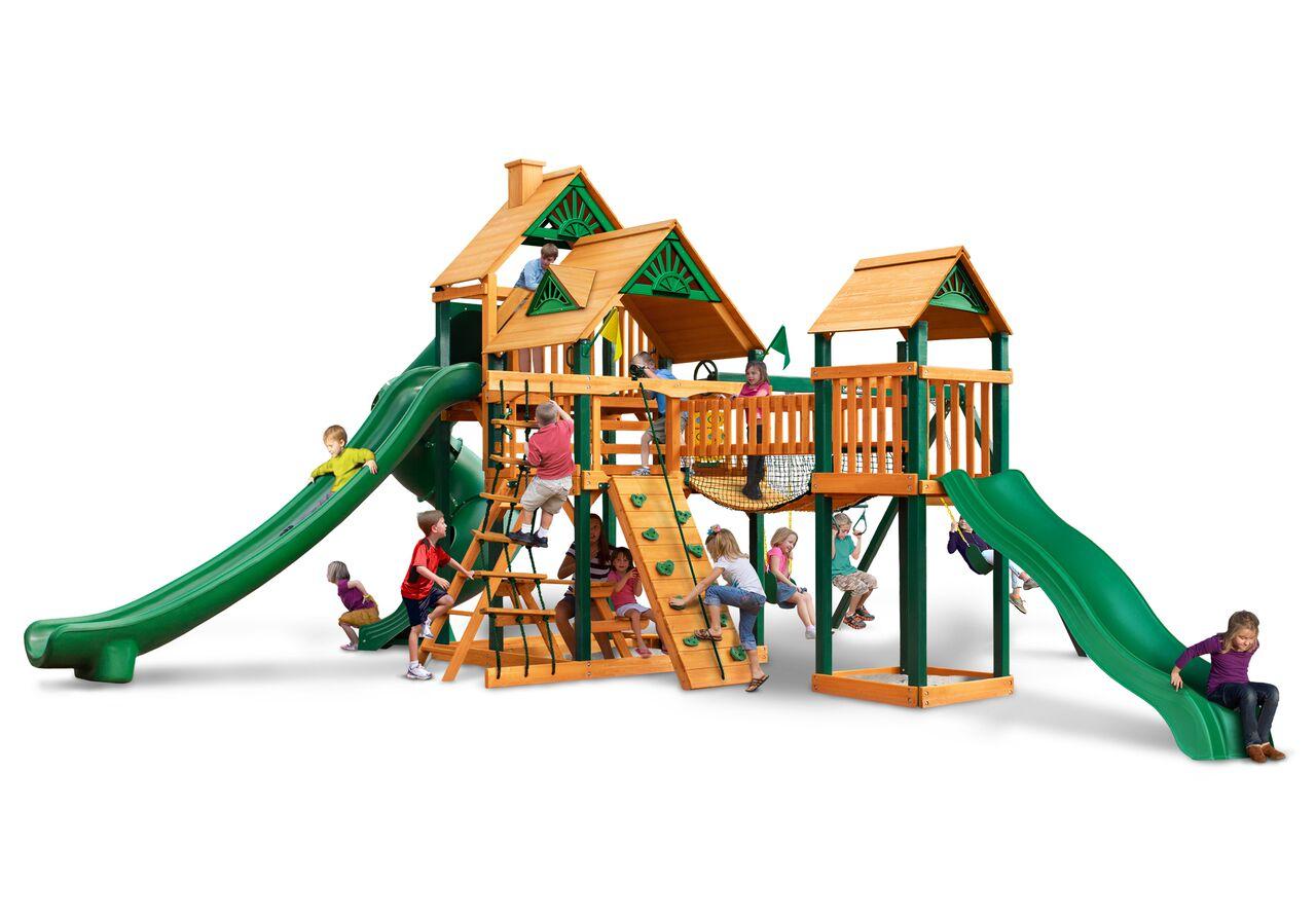 Gorilla Playsets Treasure Trove Ii Wooden Playset Wooden