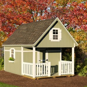 Shed Style Playhouses