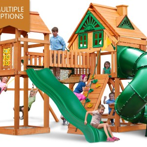 Gorilla Playsets Wilderness Gym Wooden Playset