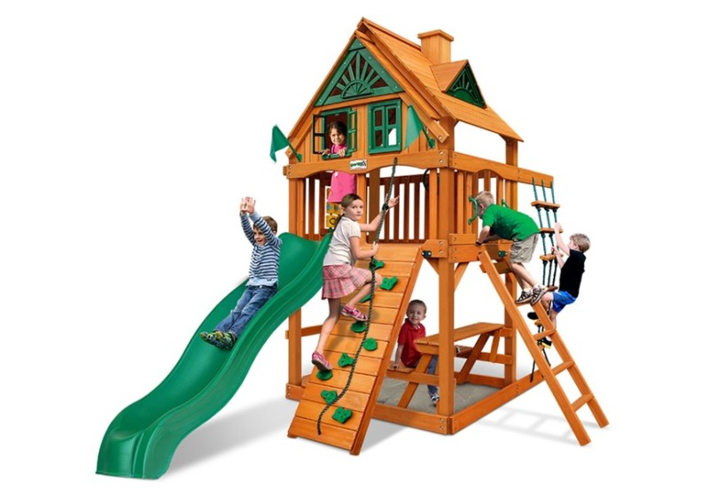 Gorilla Playsets Chateau Tower Treehouse - AP